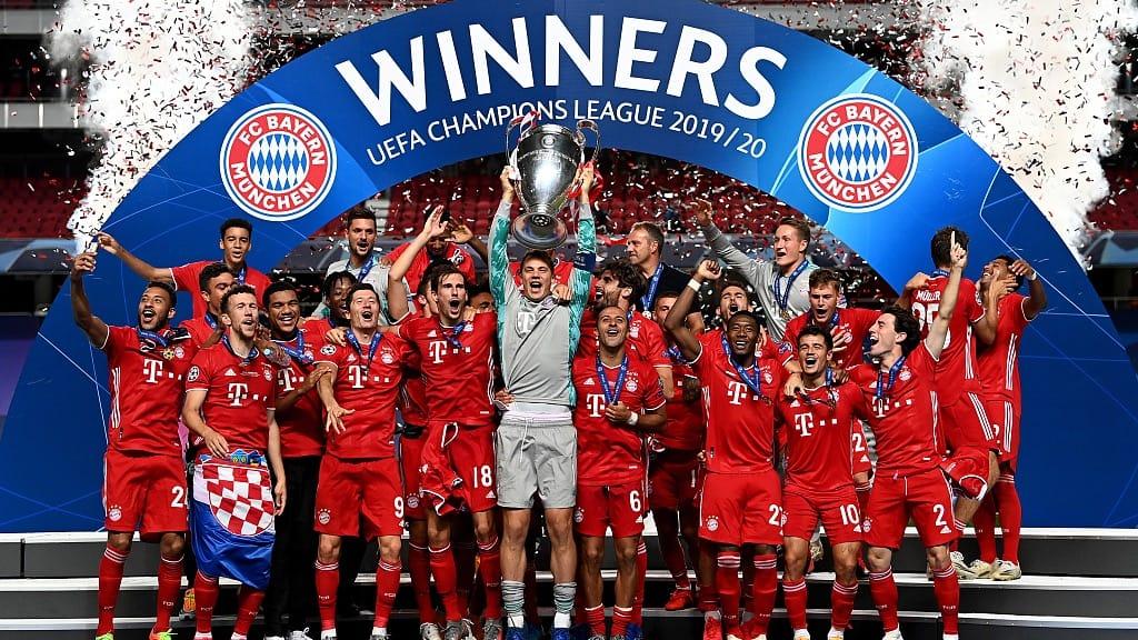 Champions League winnaars Bayern Munchen 2020