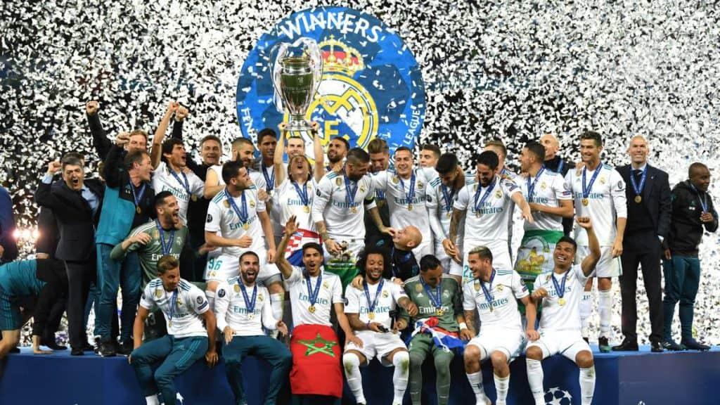 Champions League winnaars Real Madrid 2018